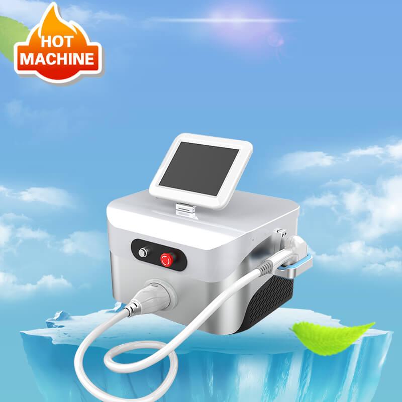 máquina de depilación láser de diodo de tres longitudes de onda
