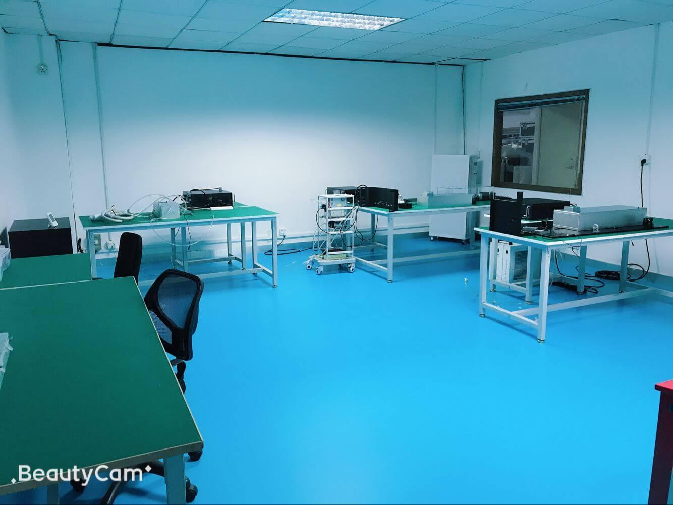 laboratorio de máquina láser picosure